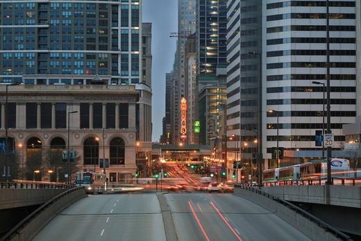 Downtown Chicago, Illinois, USA : Stock Photo