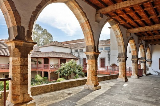 Stock Photo: 1848-127217 Cloister in the Convento de Santa Clara, Funchal, Madeira, Portugal