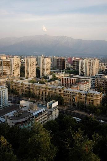 Stock Photo: 1848-127565 Santiago de Chile, Chile, South America