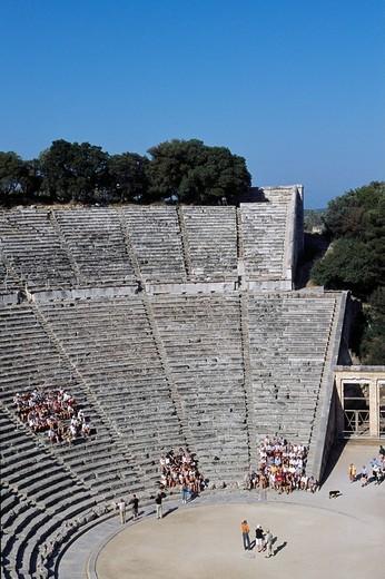 Stock Photo: 1848-127910 Epidaurus, Epidauros, Peloponnese, Peloponesus, Greece