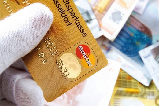 Stock Photo: 1848-128004 Credit card
