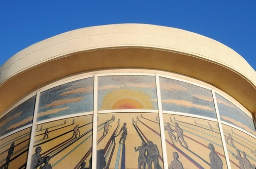 Crematorium, Denia, Valencia, Costa Blanca, Spain : Stock Photo