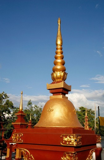Morn Thean temple site, temple site, Chiang Mai, Thailand, Asia : Stock Photo