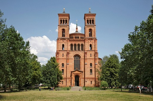 Stock Photo: 1848-13263 Saint Thomas Church in Berlin, Germany