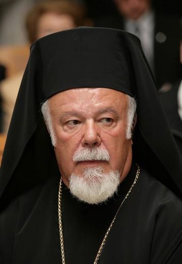 Stock Photo: 1848-133193 Archbishop Longin von Klin, permanent representative of the russo_orthodox Church in germany