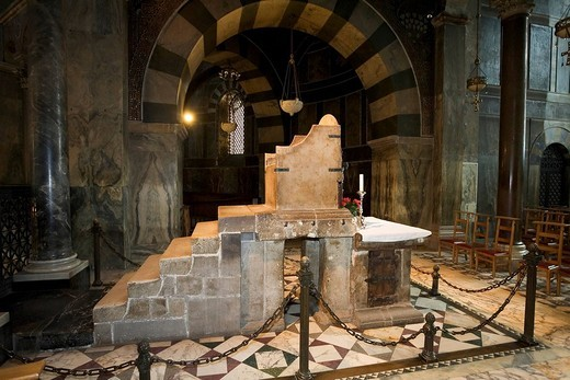 Aachen cathedral, throne of Charlemagne, Aachen, NRW, Germany : Stock Photo