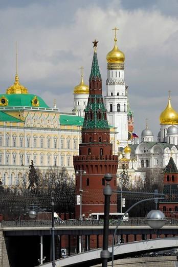 Stock Photo: 1848-140518 Kremlin, Moscow, Russia