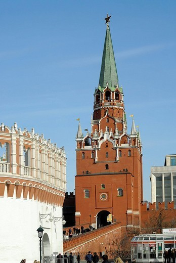 Kremlin towers, Moscow, Russia : Stock Photo
