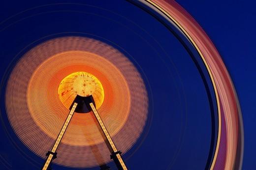 Ferris wheel at Oktoberfest, Munich, Bavaria, Germany, Europe : Stock Photo