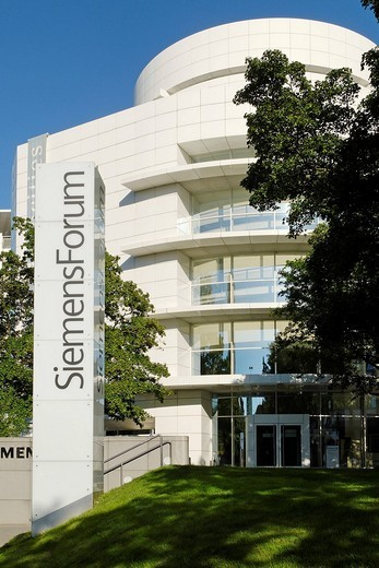 Stock Photo: 1848-141200 Siemens Forum, Munich, Bavaria, Germany