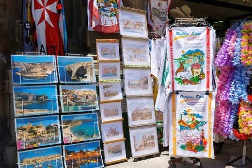 Souvenirs in Valletta, Malta, Europe : Stock Photo