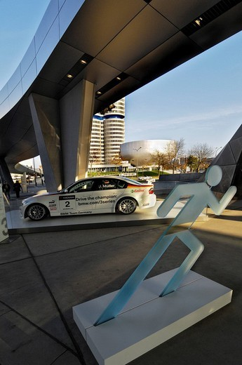BMW World, BMW_Welt, distribution and discovery centers, Munich, Bavaria, Germany, Europe : Stock Photo