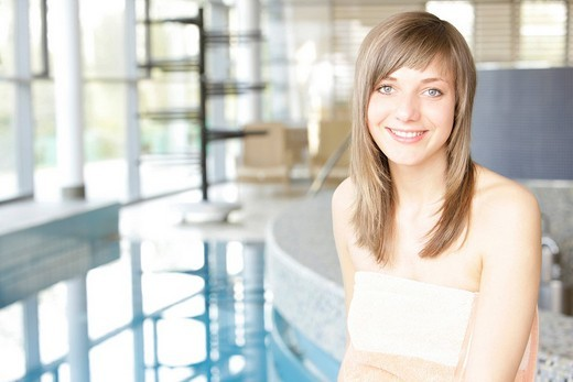 Stock Photo: 1848-145969 18_year_old girl at a spa
