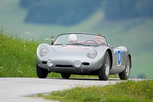 Stock Photo: 1848-146203 Porsche 718 RS 60 constructed in 1959, Ennstal Classic 2008, Austria, Europe