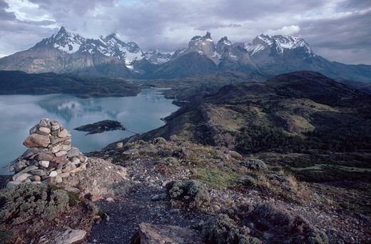 Torres del Paine National Park, Chile : Stock Photo