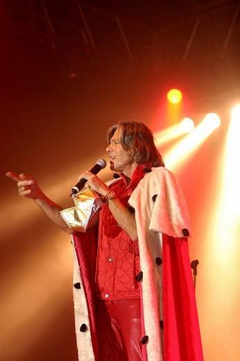 Pop singer Juergen Drews : Stock Photo
