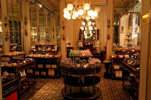 Cafe Demel, Kohlmarkt, interior Austria, Vienna : Stock Photo
