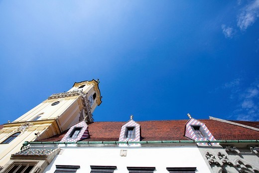 Cathedral, Bratislava, Slovakia, Europe : Stock Photo