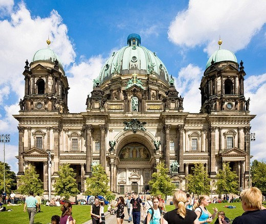 Berlin cathedral, Berlin, Germany : Stock Photo