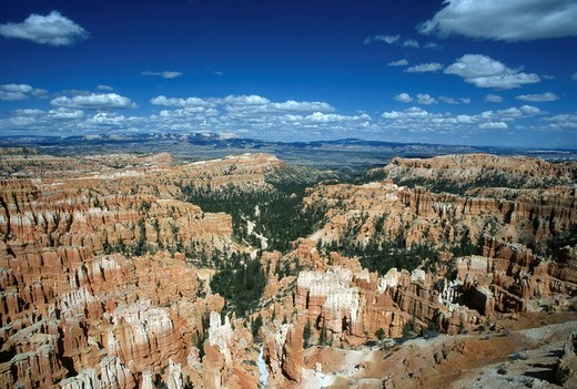 Overview of Bryce Canyon : Stock Photo