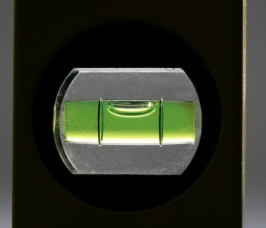 Stock Photo: 1848-155561 Spirit level or bubble level