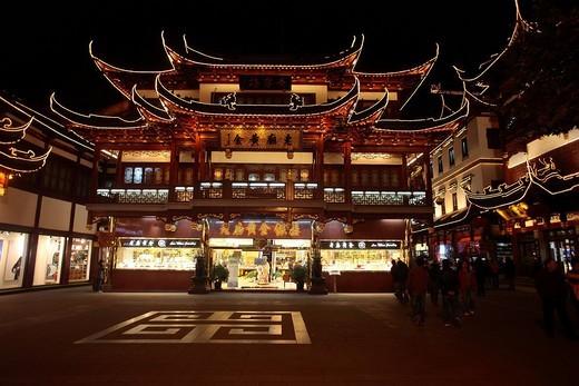 Stock Photo: 1848-158221 Historic centre of Shanghai, China, Asia