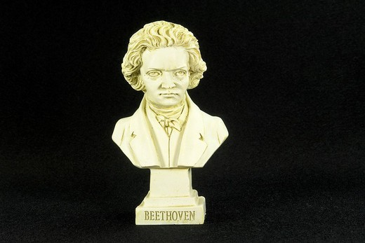 Ludwig van Beethoven born on 16 December 1770 in Bonn, died 26 March 1827 in Vienna, composer : Stock Photo