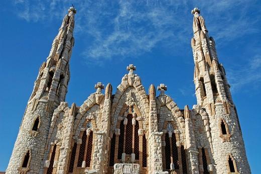 Stock Photo: 1848-160975 Sanctuary of Mary Magdalene by Jose Sala Sala, Novelda, Alicante, Costa Blanca, Spain