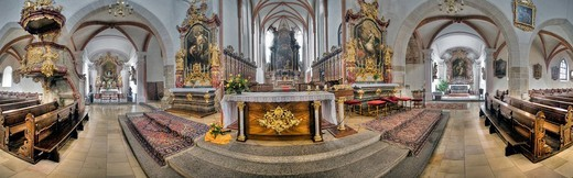 St. Stephen´s Church, Tulln, Lower Austria, Austria, Europe : Stock Photo