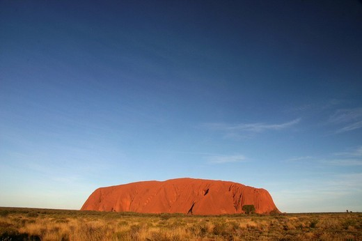 Stock Photo: 1848-162392 Ayers Rock Uluru, Outback, Northern Territory, Australia
