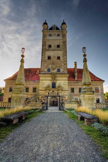 Stock Photo: 1848-163093 Greillenstein Palace, Waldviertel Region, Lower Austria, Austria