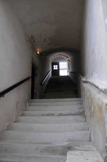 Staircase, Monastery Klosterneuburg, Lower Austria, Austria : Stock Photo