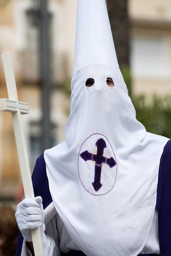 Stock Photo: 1848-16610 Easter Procession in Crevillente, Murcia, Spain, Europe