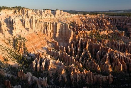 Sunrise, Bryce Point, Bryce Canyon National Park, Utah, USA, North America : Stock Photo