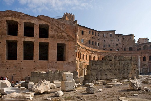 Trajanus Markets, Rome, Italy, Europe : Stock Photo