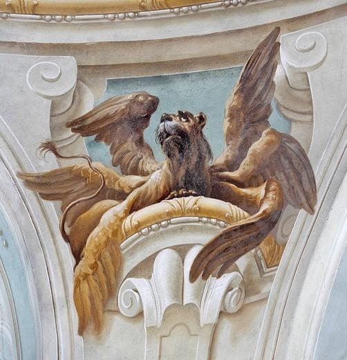 Stock Photo: 1848-171524 Fresco, Thenneberg Church, Triestingtal, Lower Austria, Austria