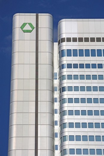 Dresdner Bank, Frankfurt am Main, Hesse, Germany, Europe : Stock Photo