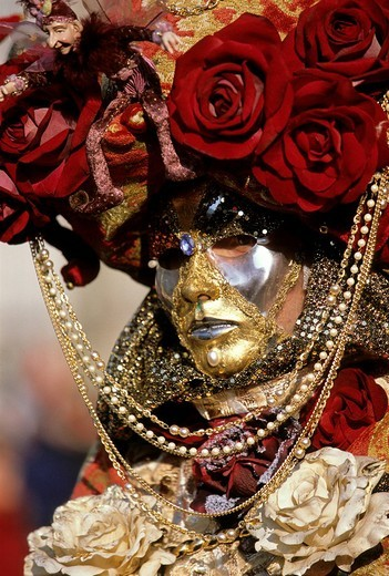 Mask, carnival in Venice, Veneto, Italy, Europe : Stock Photo