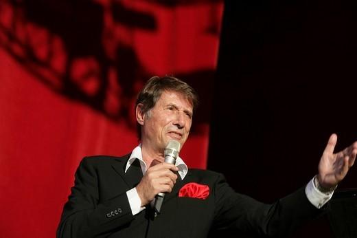 Pop singer Udo Juergens : Stock Photo