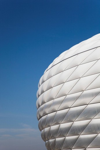 Stock Photo: 1848-175509 Allianz_Arena, Munich, Bavaria, Germany