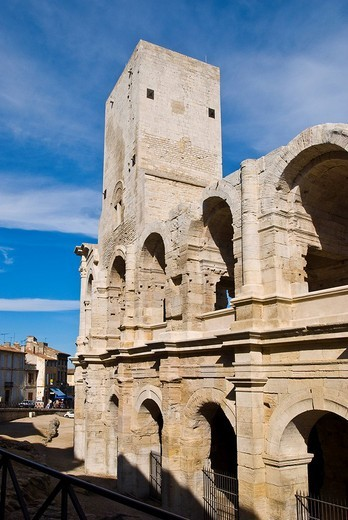 Arena, Arles, Provence_Alpes_Cote d Azur, France : Stock Photo