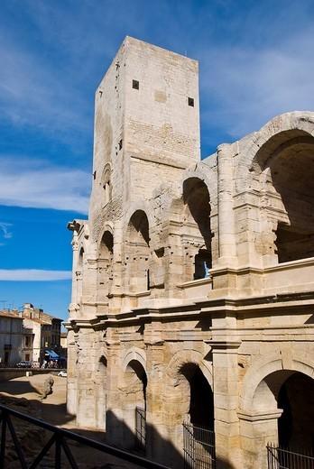 Stock Photo: 1848-177275 Arena, Arles, Provence_Alpes_Cote d Azur, France