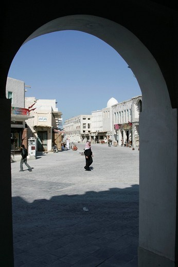 Qatar, Doha, main Souk, Souq Waqif : Stock Photo