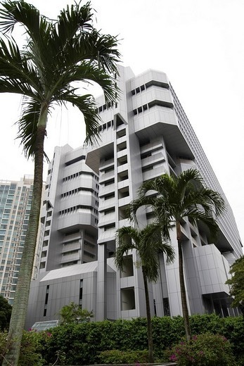 Singapore Power Building, Singapore, Southeast Asia : Stock Photo
