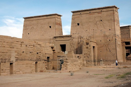 Temple of Philae, Egypt, Africa : Stock Photo
