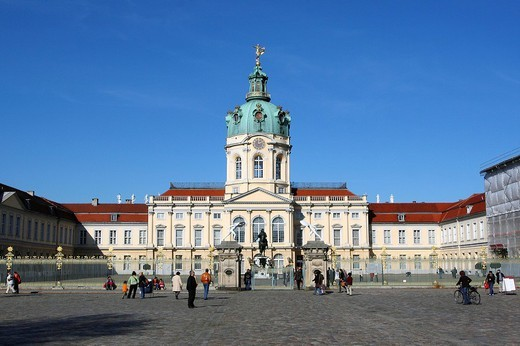 Charlottenburg Palace in Berlin, Germany, Europe : Stock Photo