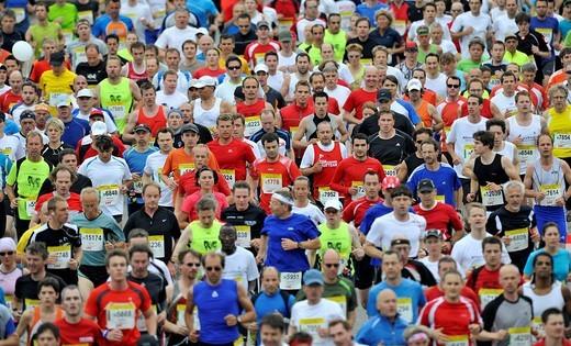 Stock Photo: 1848-182464 Stuttgart Half Marathon, Baden_Wuerttemberg, Germany, Europe