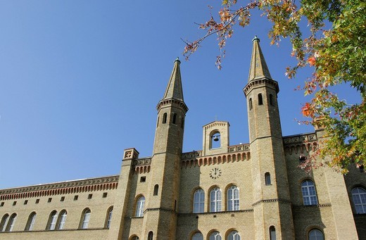 Stock Photo: 1848-184253 Autumnal Bethanien, artists residence, Berlin, Germany