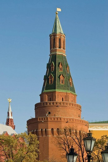 Tower of Kremlin, Moscow, Russia : Stock Photo