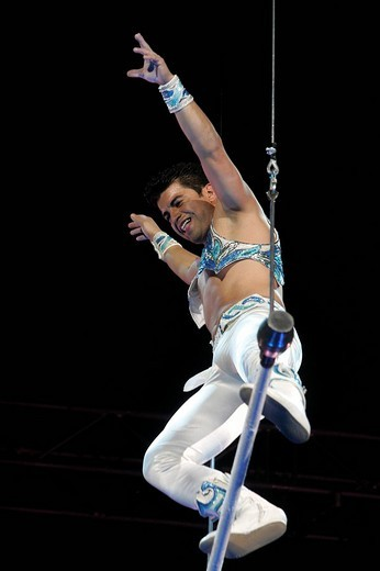 Alain Alegria at the trapezoid. Stuttgart, Baden_Wuerttemberg, Germany. : Stock Photo